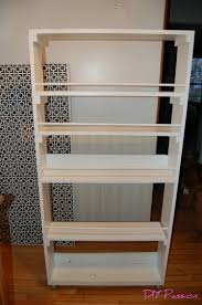 Narrow Bookcase With Drawers by Small Space Storage Solution