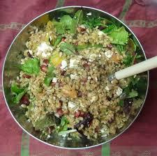 la cuisine de clea salade de petit épeautre à la grenade et feta de cléa mercredirose