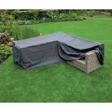 canap d angle d houssable housse de protection polyester pour canapé d extérieur 2x2 places d