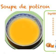 comment cuisiner le potiron soupe au potiron ou à la citrouille pour enfant tête à modeler