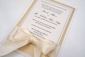 impressive simple wedding invitation designs simple elegant