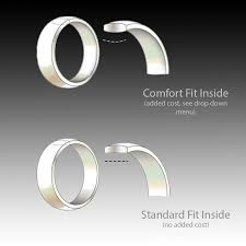 comfort fit wedding bands on for comfort fit wedding band