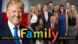donald trump family donald trump family donald trump with wife melania trump daughter