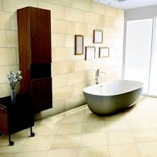 elegant tub for stylish bathroom design with large diamond shaped