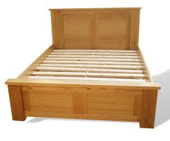 the nevis extra strong oak bedframe riverwood bedmakers