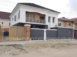 4 bed duplex for sale in olokonla estate by lbs ajah private