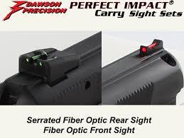 dawson precision cz 75 d compact carry fixed sight set fiber