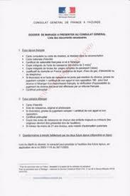 certificat de capacitã de mariage la publication des bans pour un mariage mixte au cameroun