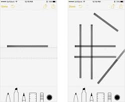 notes app improved in ios 9 awesome drawing feature teachme iphone