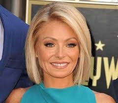 how to get kelly ripa wavy hair 20 chic celebrity short hairstyles celebrity short hairstyles