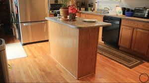 how to build a small kitchen island simple kitchen island build 21 jackman works