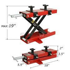motocross bike lift motorcycle scissor jack lift 10 motorcycle table lift mini frame