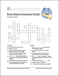 learn basic musical terms with these 10 printouts word search
