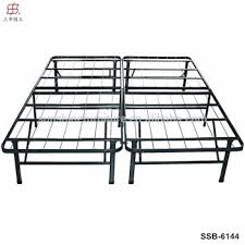 china factory metal durable double foldable bed view foldable