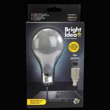 Usb Light Bright Idea Usb Light Bulb Computer Light
