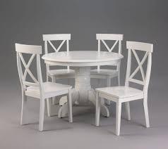 White Round Kitchen Table Ikea Gallery Including Sets For - Ikea white kitchen table