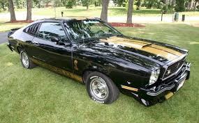 77 mustang cobra 2 black 1977 ford mustang cobra ii fastback mustangattitude com