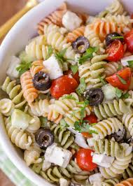 salad pasta greek pasta salad recipe lil luna