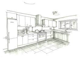 kitchen floor plans example l shaped precious home design