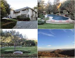 Map Of Celebrity Homes In New Orleans by Celebrity Real Estate San Fernando Valley Blog