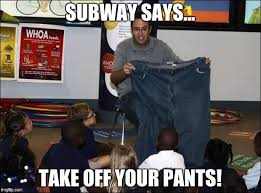 Jared Meme - jared plays subway says imgflip
