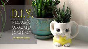 pots for succulents for sale how to make a vintage teacup planter youtube
