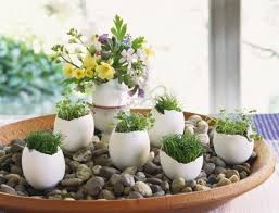 Easter Decorations For Graves by Egg Shell And Flower Ideas For Eco Friendly Easter Decorating