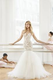 blush wedding dress mermaid wedding dress kleinfeld bridal