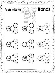 26 best number bonds to 10 images on pinterest kindergarten math