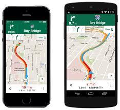 Google Maps Navigation Voice Google Maps For Ios Gains Uber Integration Lane Guidance