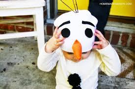 Olaf Costume Easy Olaf Costume Homemade Ginger