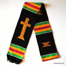 kente graduation stoles church choir clergy kente stoles