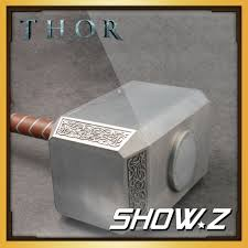 metal made cattoys 1 1 thor mjolnir hammer avengers replica prop