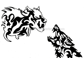 tattoo designs black and white clip art library