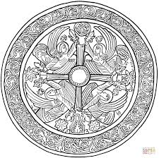 christmas mandala coloring free printable coloring pages