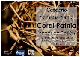 easter choral san javier town page murcia