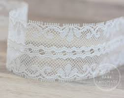 lace ribbon by the yard white lace ribbon etsy