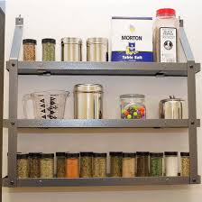 wall spice cabinet with doors spice racks wall mounted spice racks kitchensource com