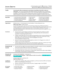 military resume samples military resume example sample military