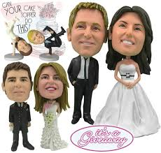 cake toppers bobblehead giveaway 100 towards your own one of a personalized