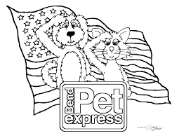 memorial coloring pages memorial day coloring page bend pet express