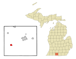 List Of Cities Villages And Townships In Michigan Wikipedia by Bronson Michigan Wikipedia
