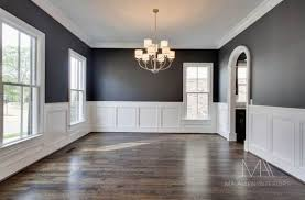 wood paneling modern dining room painted wood paneling modern neutral colour pallet