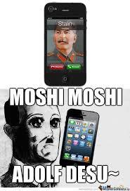 Moshi Moshi Meme - moshi moshi by cedestroyer meme center