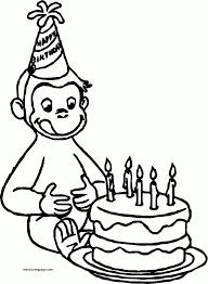 curious george coloring pages printable george bathing coloring