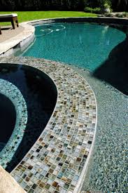 99 best cool pool tile images on pinterest glass tiles pool