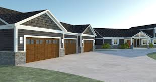 House Plan Garage 4 Car Garage Apartment Floor Plans Rustic