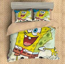 Spongebob Bedding Sets 3d Customize Spongebob Squarepants Bedding Set Duvet Cover Set