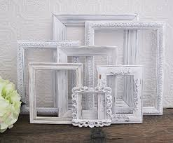 white picture frame set frame decorations
