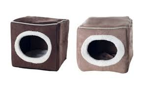 should you buy cozy cave enclosed cube pet bed hands on review